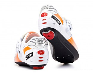 SIDI-Kaos-Cycling-Shoes-White-Orange-Fluo-4